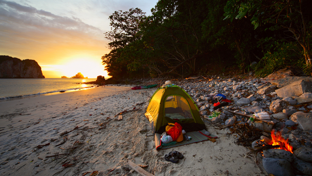 Best Summer Beach Campsites