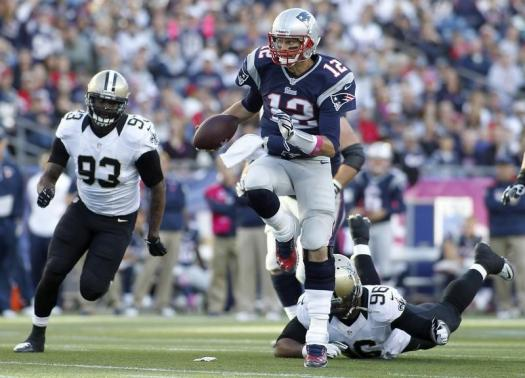 NFL: New Orleans Saints at New England Patriots