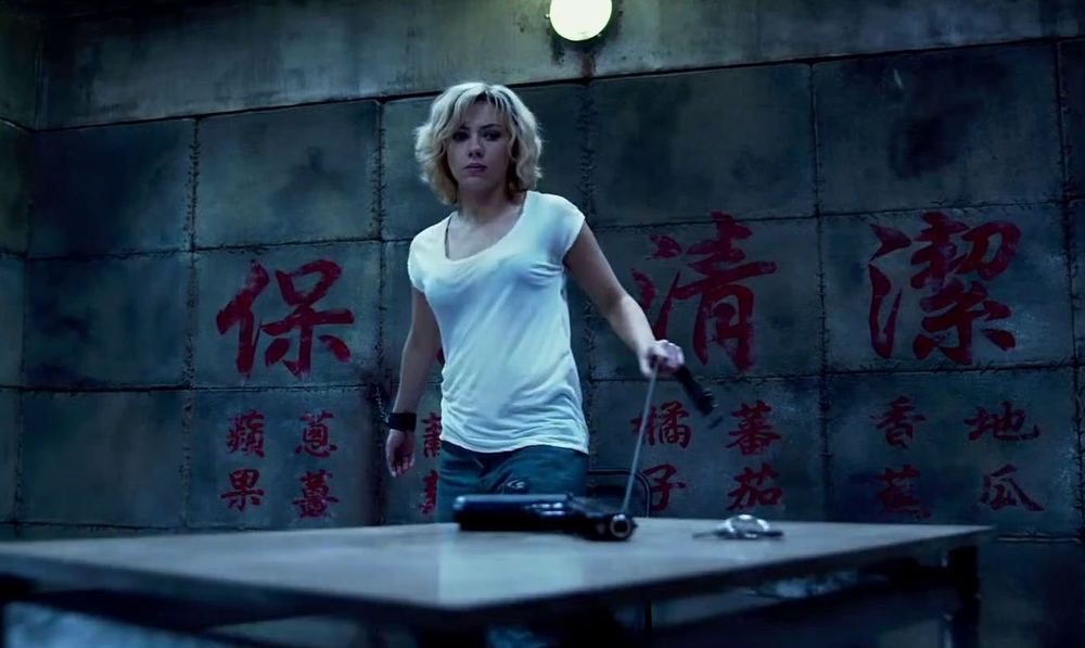 Scarlett Johansson's long, painful week on the set of Lucy