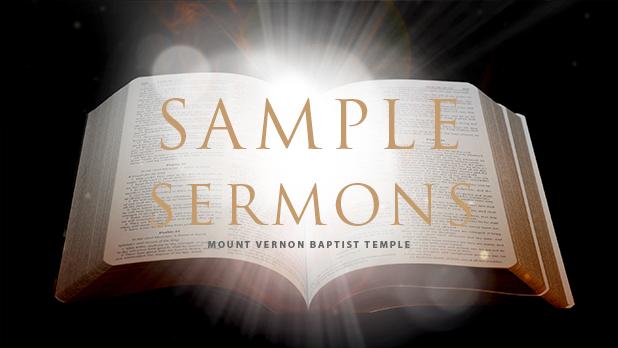 Soul Stirring Sample Sermons