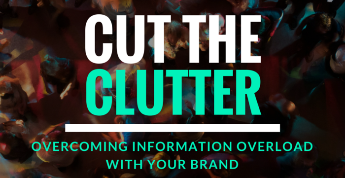 Do not overload your site with Clutter