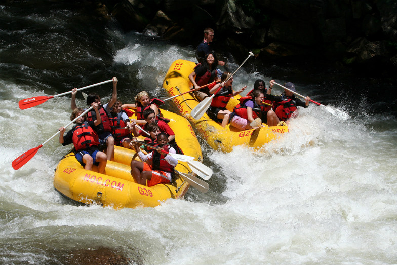 Top 5 White Water Rafting Spots In Tennessee