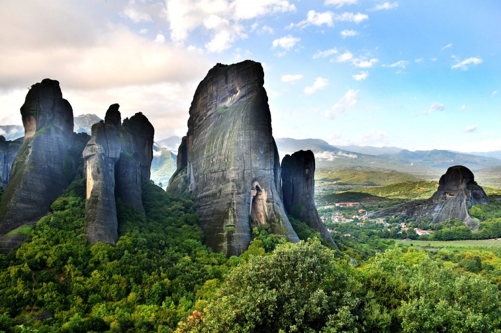 Visit the monasteries of Meteora