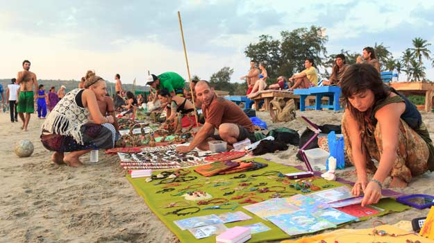 Anjuna Beach: Have A Different Beaching Experience