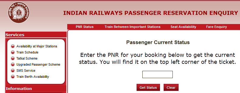 How To Check PNR Status Before Traveling by Train